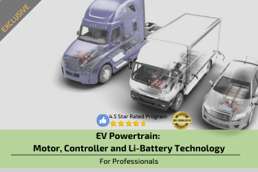 Electric Vehicle : Motor, Controller and Li-Battery Technology