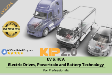 EV & HEV: eDrives, Powertrain and Lithium Battery Technology
