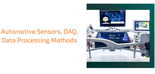 automotive sensors, daq, data processing methods